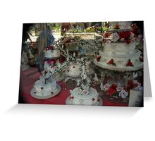 Chicago Cakes Greeting Card