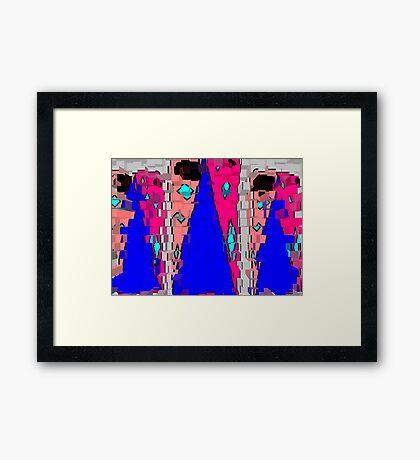 Case Framed Print