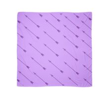 Purple Arrows Scarf