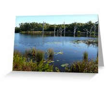 Sandstone Lake Greeting Card