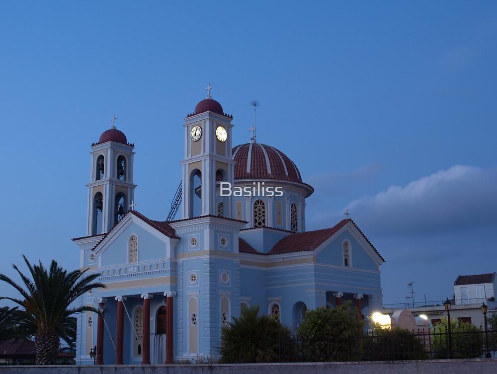 Timios Stavros church, Alikianos Chania by Basiliss
