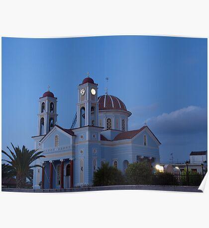 Timios Stavros church, Alikianos Chania Poster