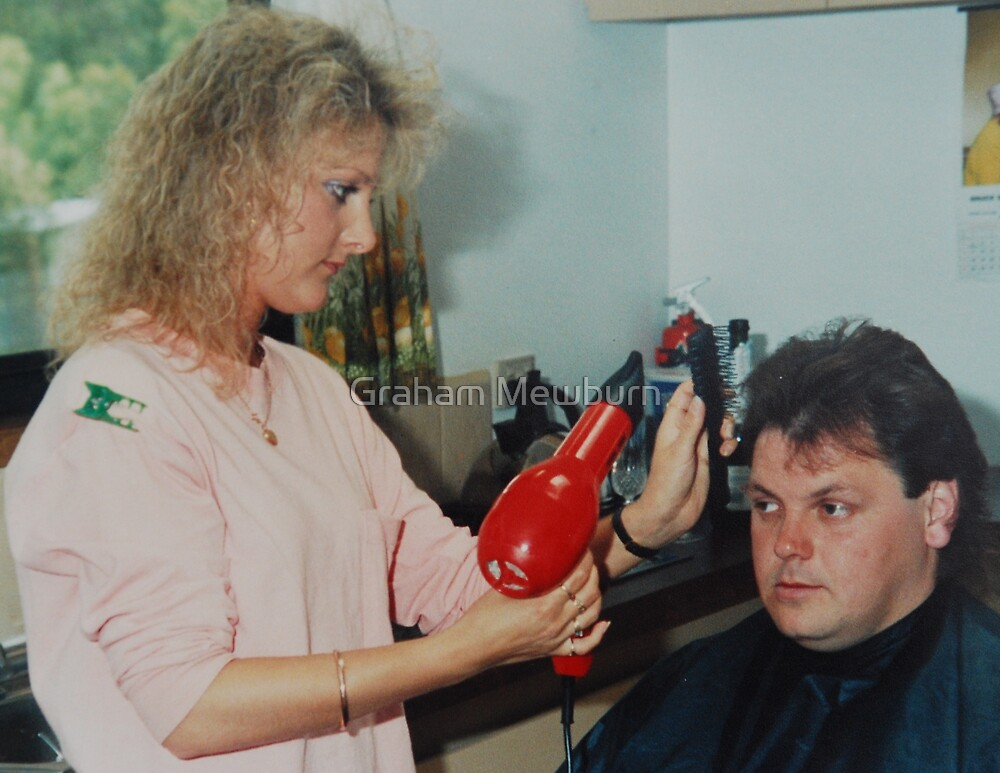 Groom Getting Ready by Graham Mewburn