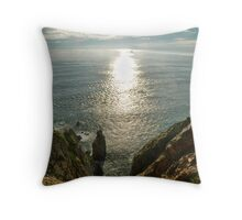 Down is a loooong way Throw Pillow