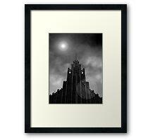 Gothic Moon Framed Print