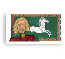 King Theoden Canvas Print