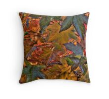 Liquidambar Leaves Throw Pillow
