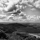 Cloud watching from Sutton Bank by clickinhistory