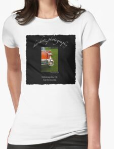 1959 Caddy Rear Lights Womens Fitted T-Shirt
