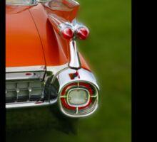 1959 Caddy Rear Lights Sticker