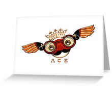 Flying Ace Greeting Card