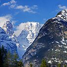 Dolomites Panorama II by Harry Oldmeadow
