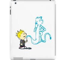 Expecto Patronum - Calvin & Hobbes iPad Case/Skin