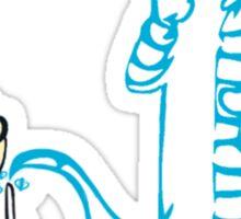 Expecto Patronum - Calvin & Hobbes Sticker