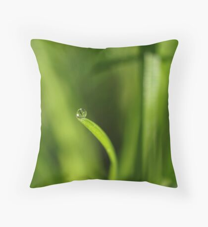 The World Can Be A Big Place When Your On Your Own Throw Pillow