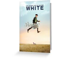 The Secret Life of Walter White Greeting Card