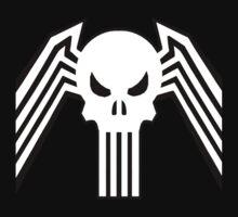 Symbiote Punisher by TGRShirts