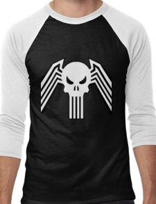 Symbiote Punisher Men's Baseball ¾ T-Shirt