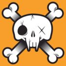 Modern Pirate Skull by heavyhand