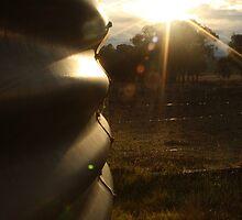 Tank Sunrise by Jade  Douglas