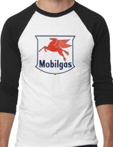 Mobilgas Men's Baseball ¾ T-Shirt