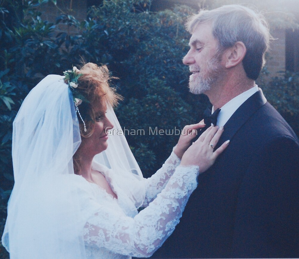 Bride with her Dad by Graham Mewburn