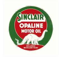 Sinclair Opaline Art Print