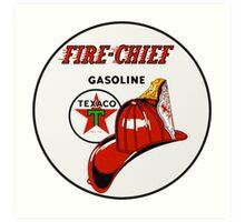 Texaco Fire Chief Art Print