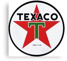 Texaco retro Canvas Print