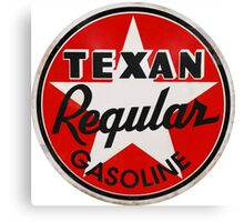 Texan Gasoline Canvas Print