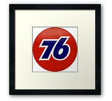 Union 76 Framed Print