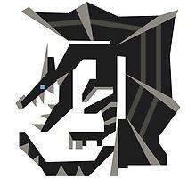 Kushala Monster Hunter Symbol Print by niymi