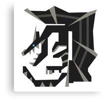 Kushala Monster Hunter Symbol Print Canvas Print