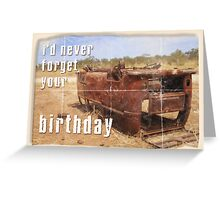 Volkswagen Kombi Greeting Card - Happy Birthday  Greeting Card