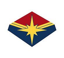 Captain Marvel by frostart