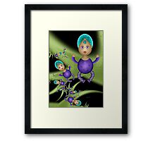Fancy Baby Girls Framed Print