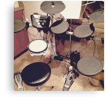 Electronic Drumset  Canvas Print