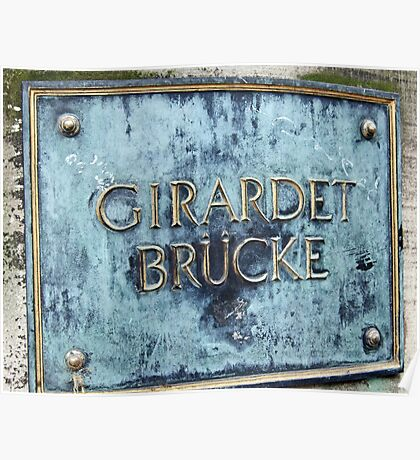 Girardet Brücke Poster
