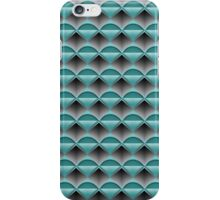 Paper Shapes On Grey Smoke Beams iPhone Case/Skin