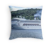 Pacific Dawn Vila Throw Pillow