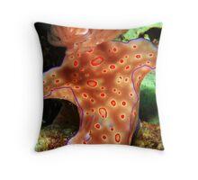 Ceratosoma triobatum Throw Pillow