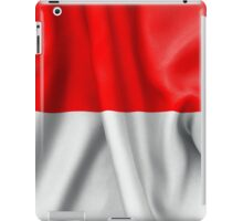 Monaco Flag iPad Case/Skin