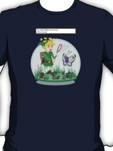 Bug Catcher Link gets Confused! T-Shirt