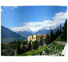 Mountains and Castle - And the Empress Sissi Poster