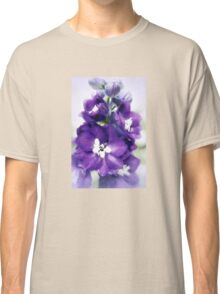Delphinium Magic Fountains Classic T-Shirt