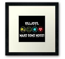 My Chemical Romance Killjoys, Make some noise!  Framed Print