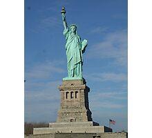 Statue of Liberty  Photographic Print