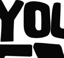 Kill your TV Sticker