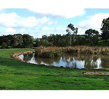 Dam View Photographic Print