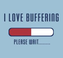 Buffering Please Wait T-shirt - Application File Loading Kids Clothes